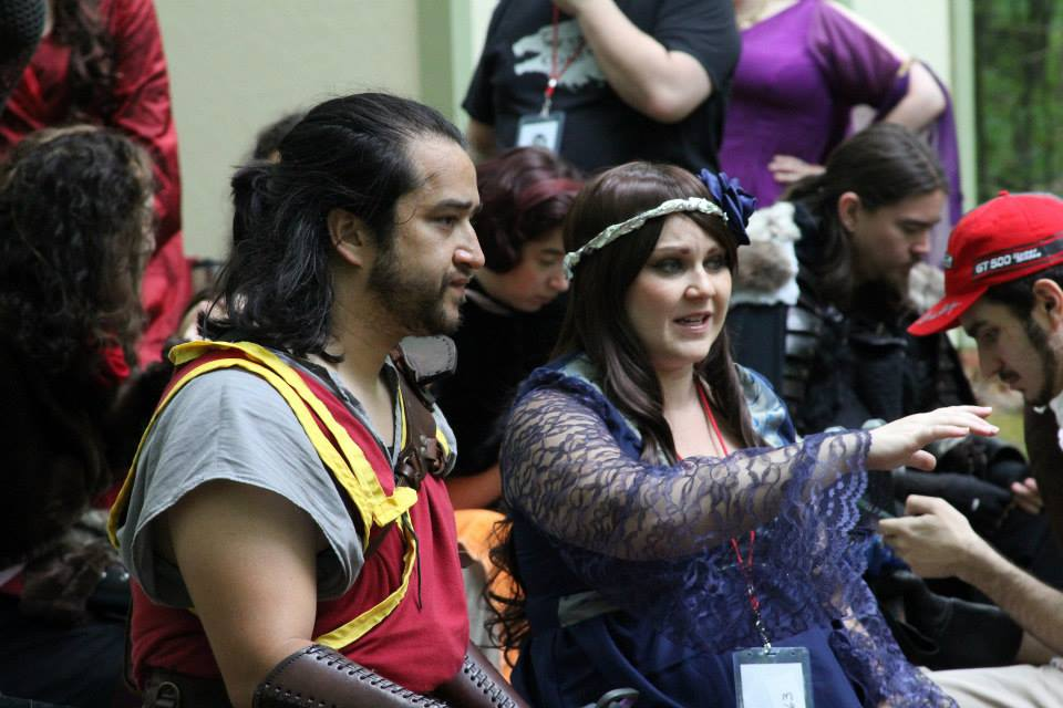Oberyn Martell and Lyanna Stark cosplay at the Tournament of Champions