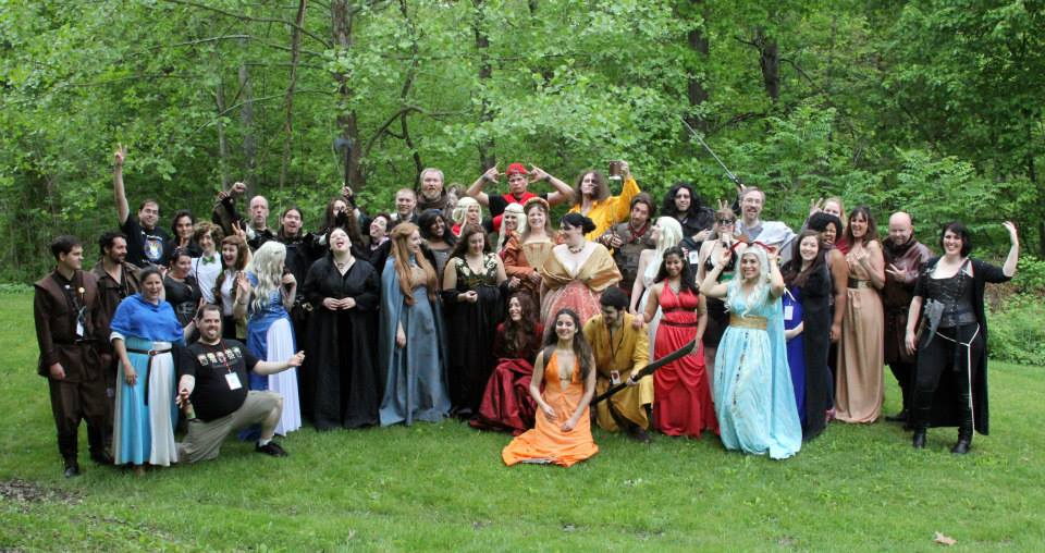 Ice and Fire Con cosplay - Great Houses of the Seven Kingdoms