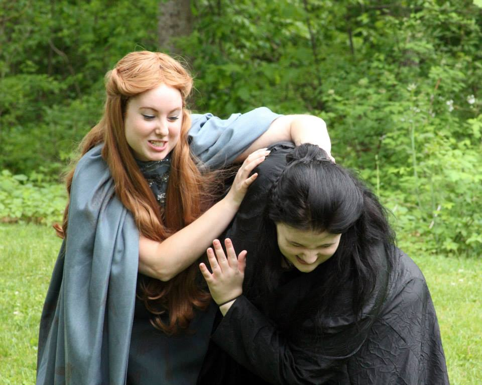 Lysa Tully and Sansa Stark cosplay
