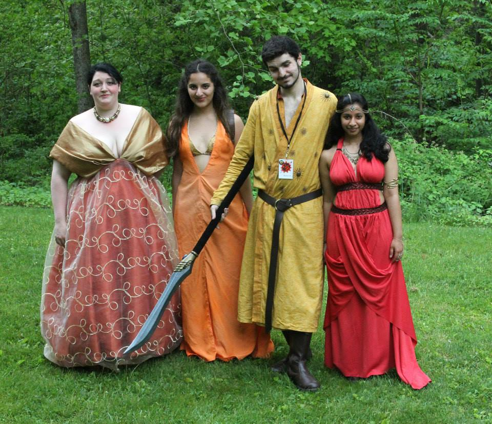 House Martell cosplay