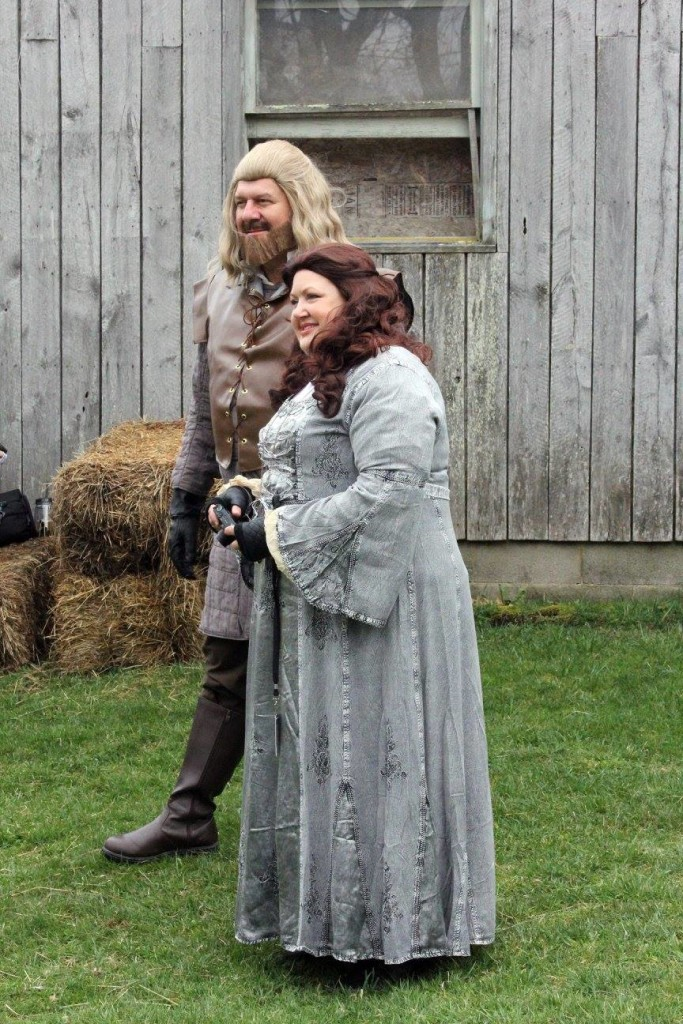Ice and Fire Con Catelyn Stark Ned Stark