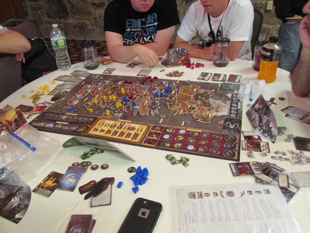 game of thrones boardgame ice and fire con