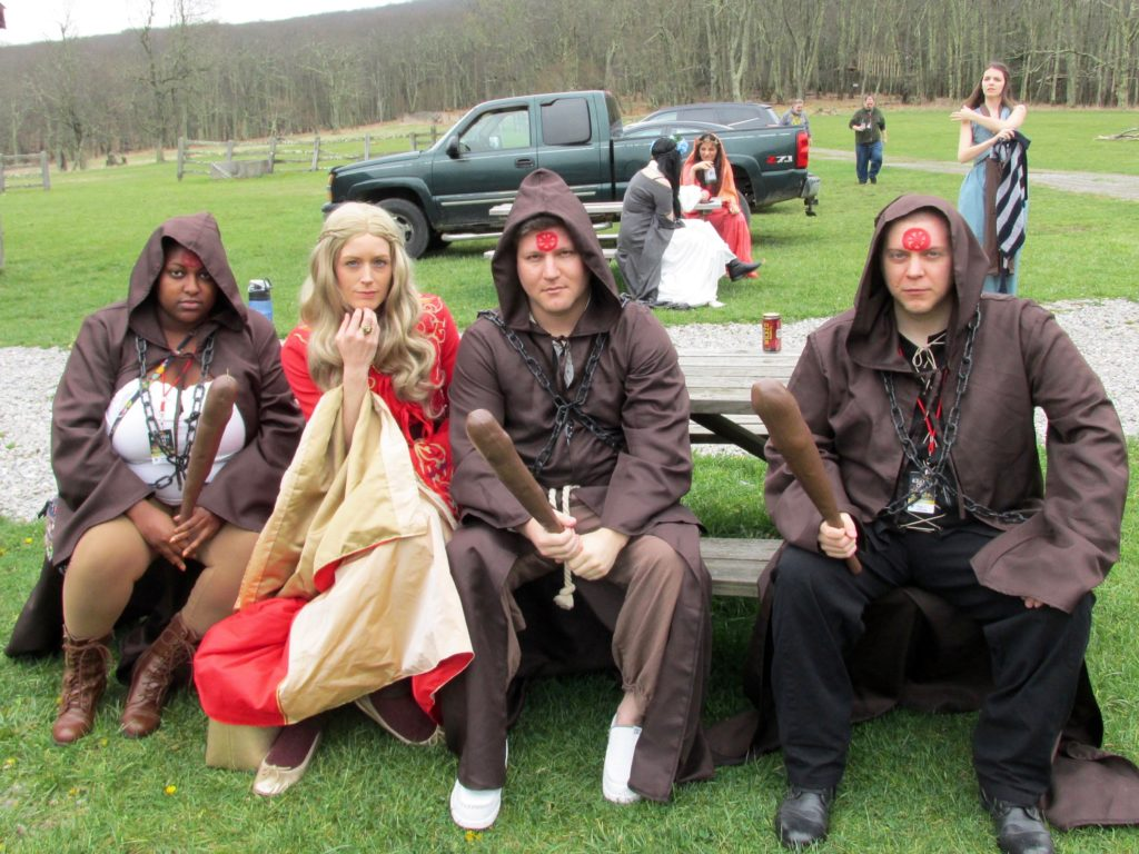 game of thrones cosplay cersei lannister ice and fire con