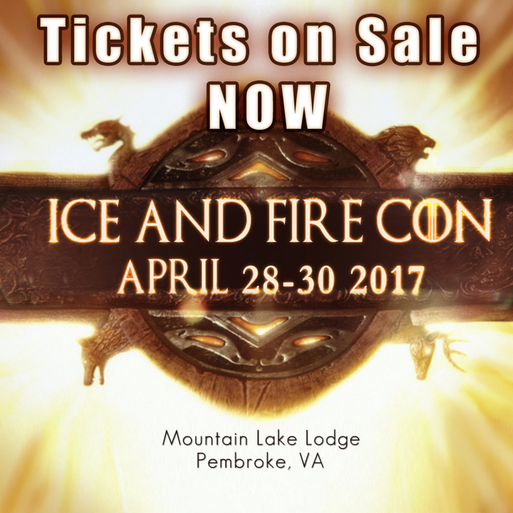 ice and fire con tickets on sale