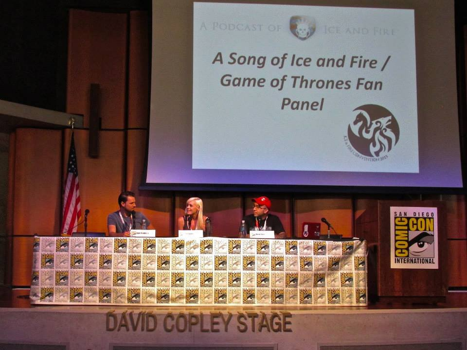 SDCC ice and fire con