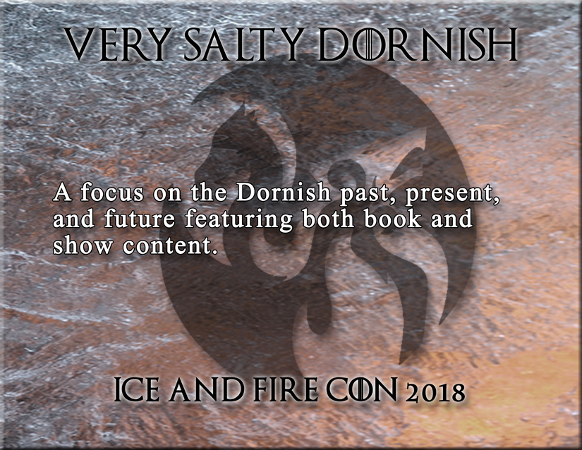 discussion panels dorne house martell asoiaf game of thrones