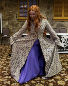 costume parade performance contest sansa stark ice and fire con