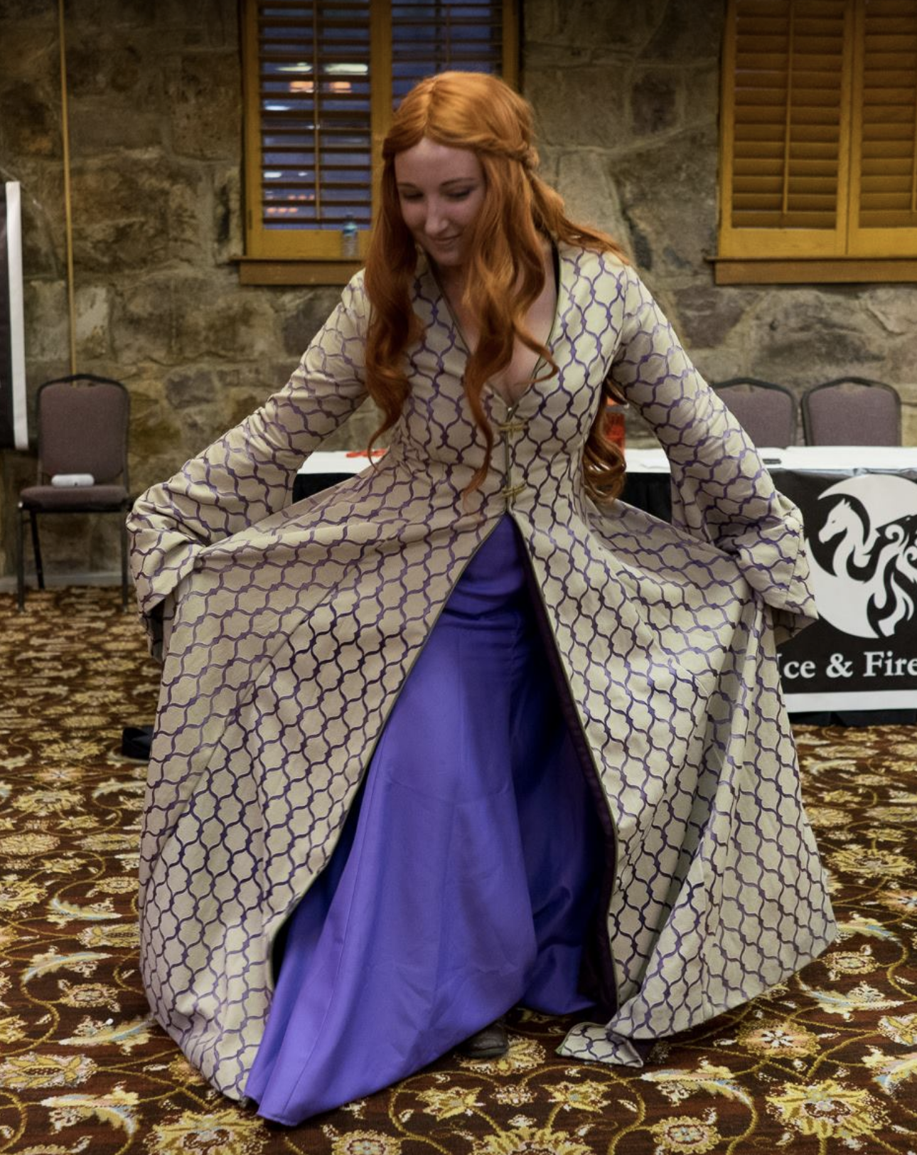 Ice Fire Con Costume Parade Performance Contest