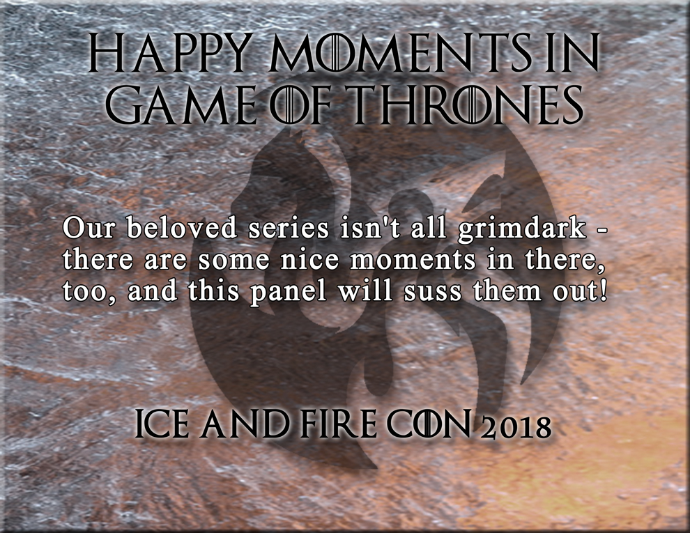 IaF 2018 Happy Game of Thrones Panel